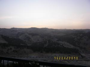 Со смотровой площадки Маале Адумим