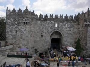 Домасские ворота в Иерусалиме
