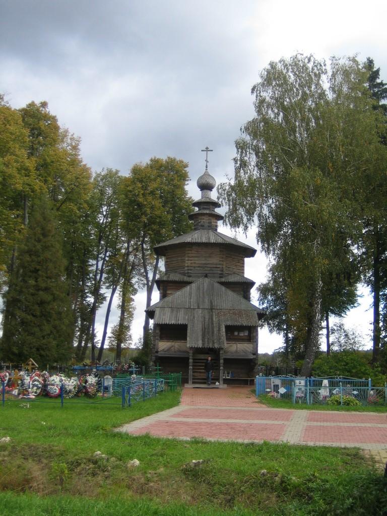 Деревянная церковь Рождества Христова в Мелихово