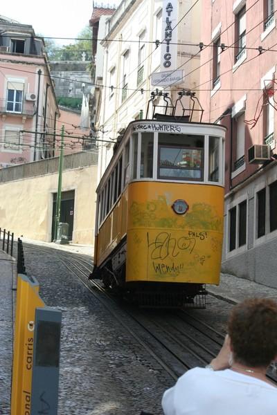Португалия.Трамвай лиссабона
