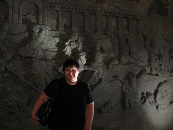 Стена в шахте Величка