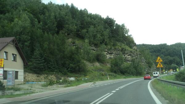 Дорога в Карпаты