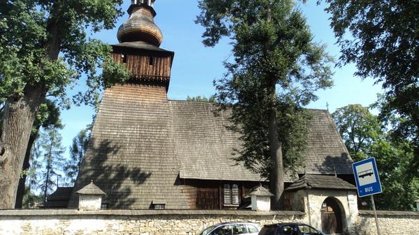 Польша Деревянные церкви 16-17 век