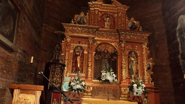 Польша. деревянные церкви в Карпатах.