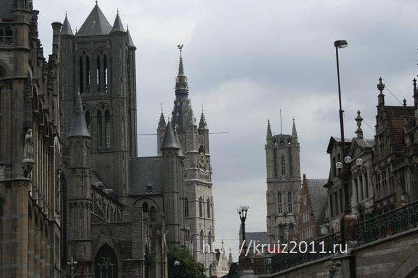 Гент. достопримечательности Бельгии