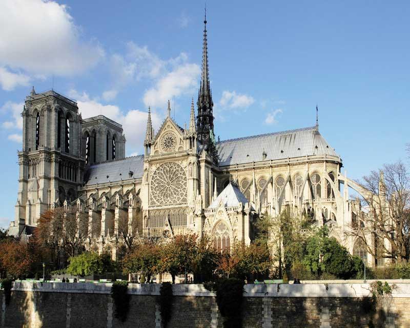Собор Парижской Богоматери. Франция