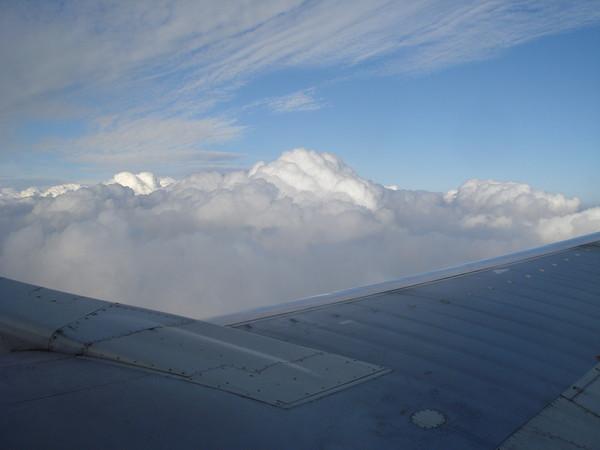 Полет самолета фото