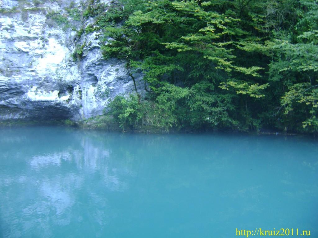 Фото Абхазия. Голубое озеро