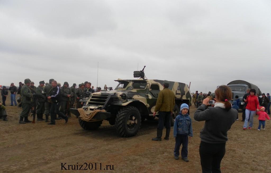 Реконструкция битвы. Мелитополь Ватан