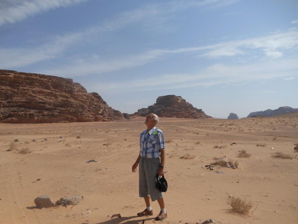Иордания. Аравийская пустыня.