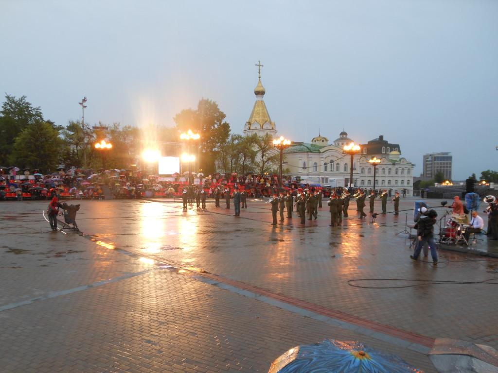 Хабаровск. Фестиваль военно-духовых оркестров