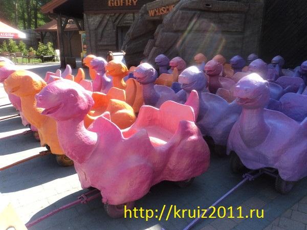 Польша В Паркке Динозавров