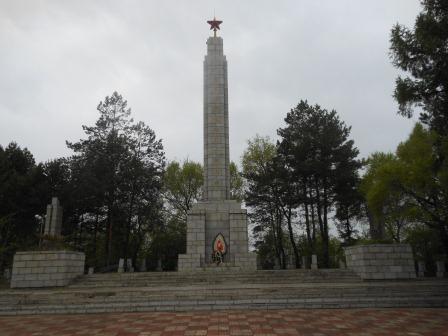 Фуюань, Памятник советским воинам