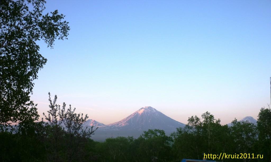 Вулкан Карякский Камчатка