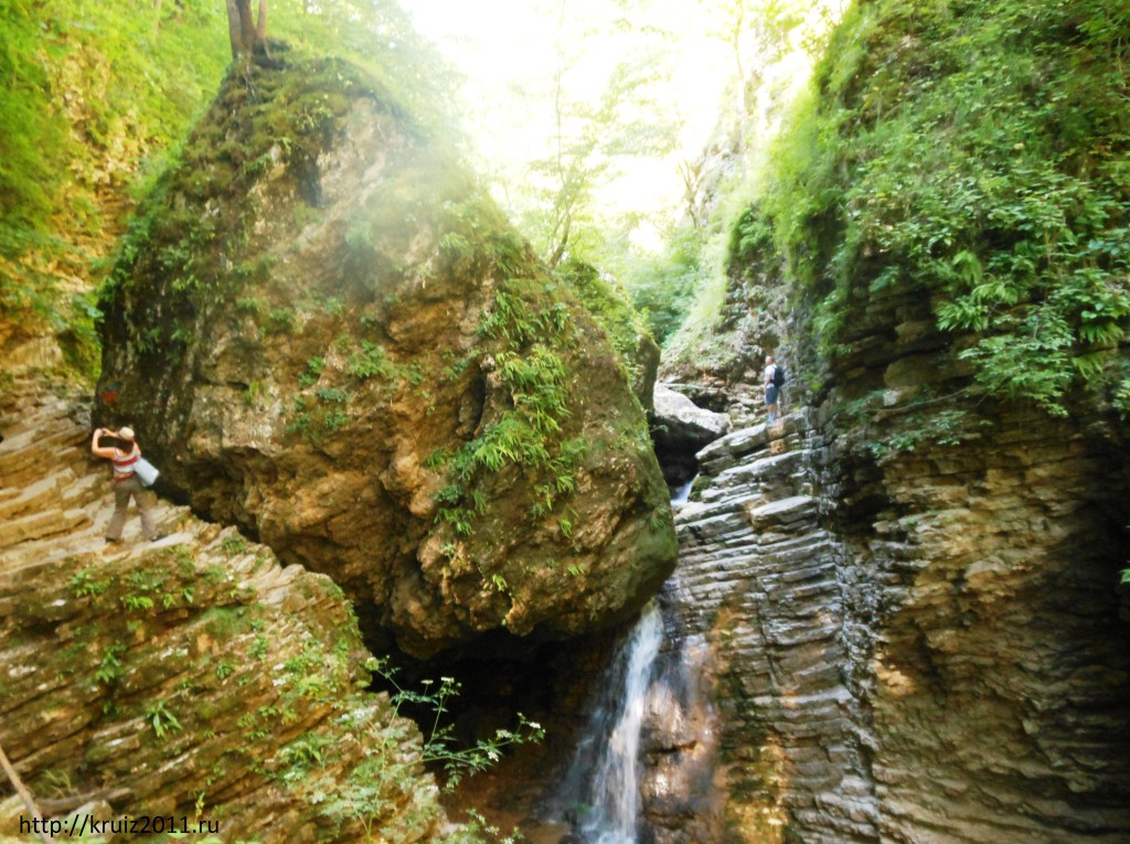 Лагонаки. Водопады Рубфаго