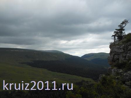 Горы Кавказа. Плато Лаго-Наки