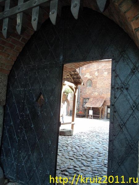 Польша. Кеншин.. Замок тевтонских рыцарей
