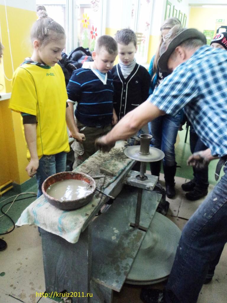 Польша. Ольштын. Мастер- класс по гончарному промыслу