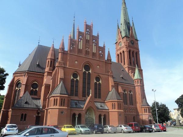 Польша, Торунь. Костел Святой Екатерины