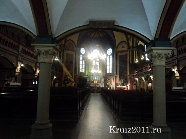 Польша. Торунь. Костел святой Екатерины.
