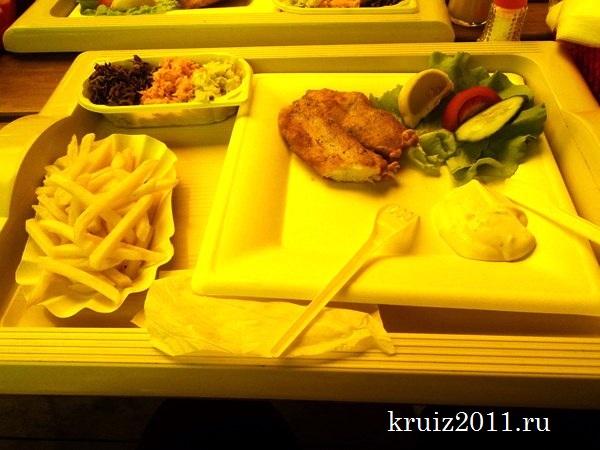 Польша, Курорты Польши, рыбный ресторан