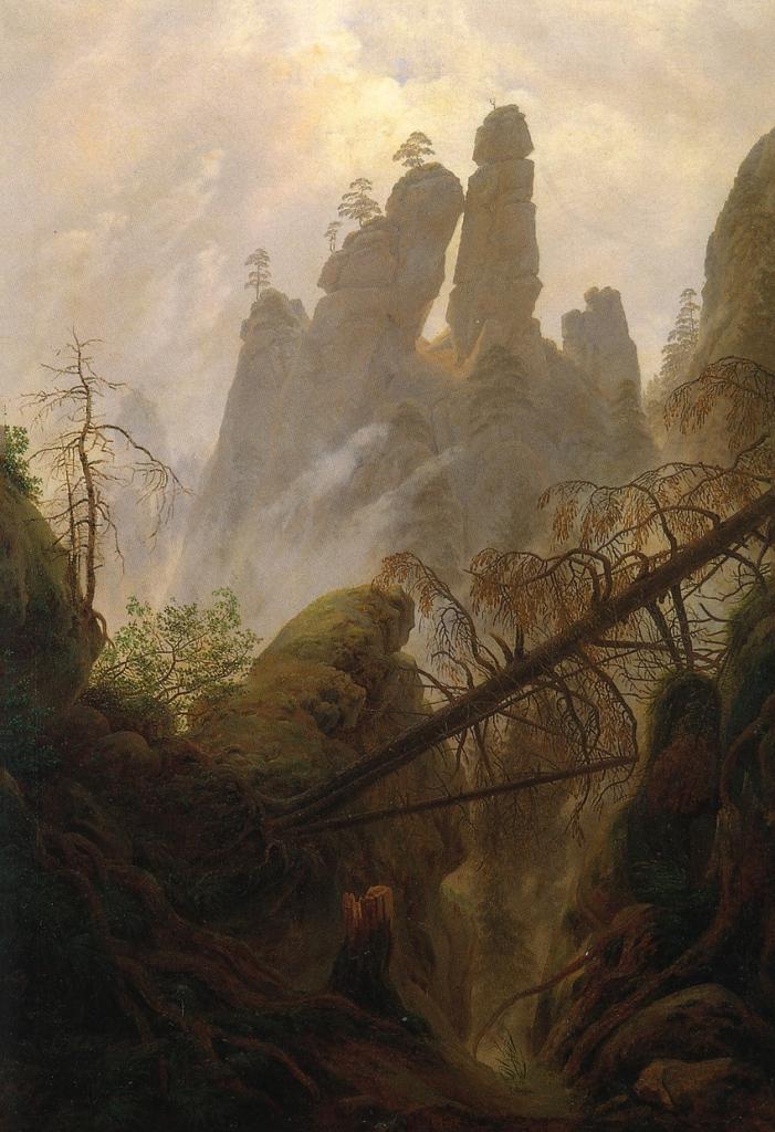 Gorge, Каспар Давид Фридрих