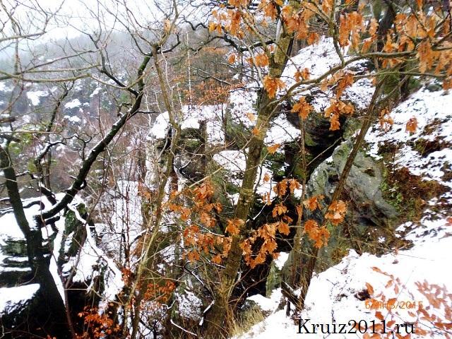 Чехия.  Бастай, Саксонская Швейцария