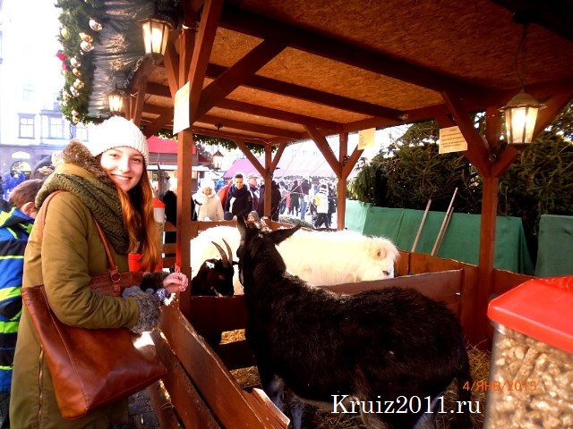 Чехия. Новогодняя ярмарка