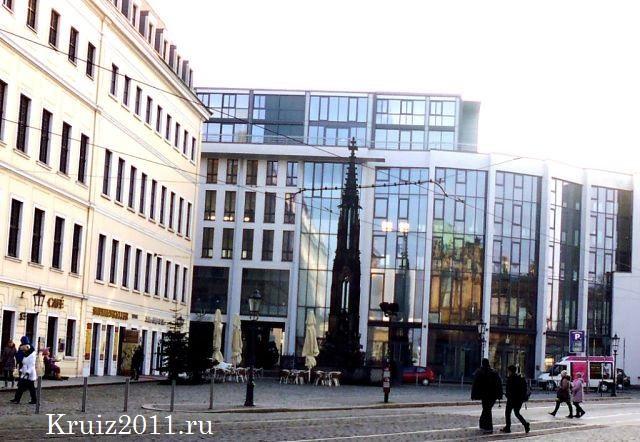 Дрезден. Чумной столб