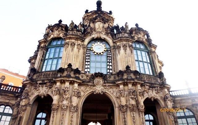 Дрезден. Достопримечательности Дрездена. Дворец Цвингер.