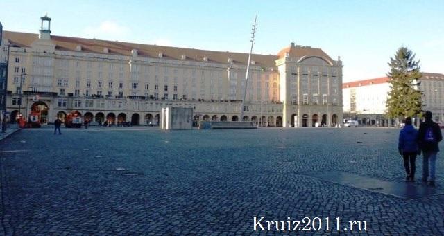 Дрезден. Рыночная площадь.