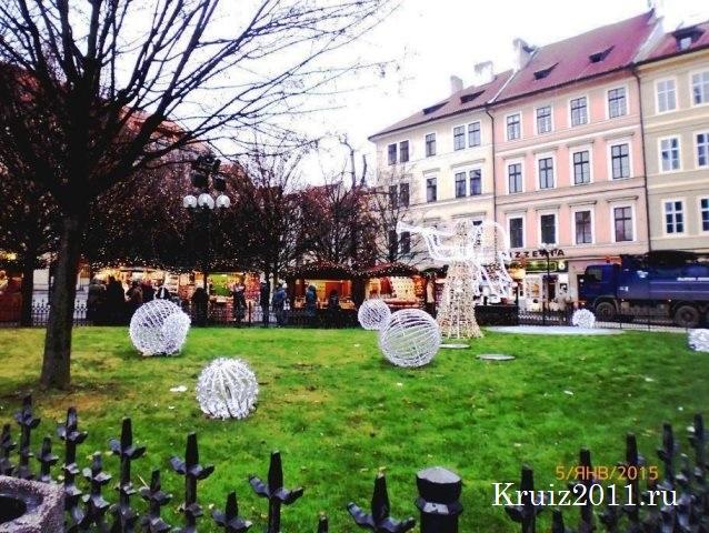 Достопримечательности Праги.  .Староместская Площадь