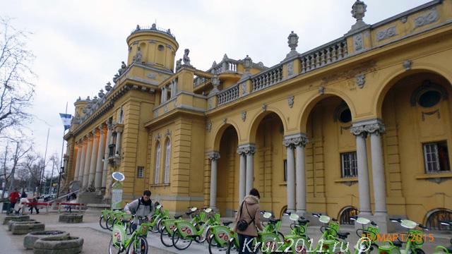 Будапешт. Купальни Сечени.