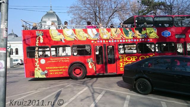 Будапешт. Автобус.