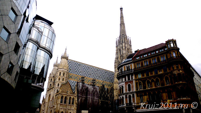 Австрия. Вена. Собор Святого Стефана