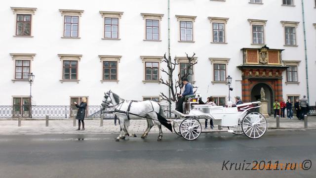 Австрия Улицы Вены.