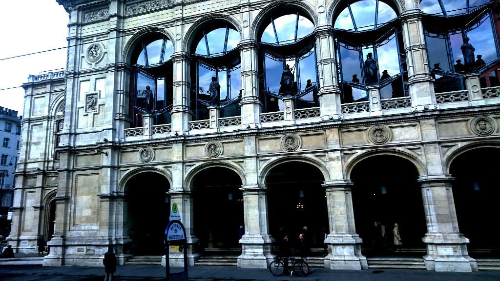 Австрия, Вена. Оперный театр