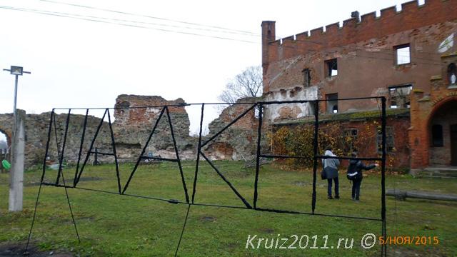 Калининград. Замок Шаакен.