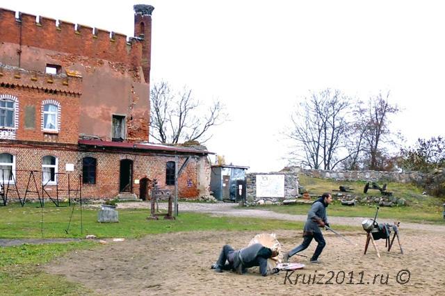 Замок Шаакен. Рыцарский турнир.