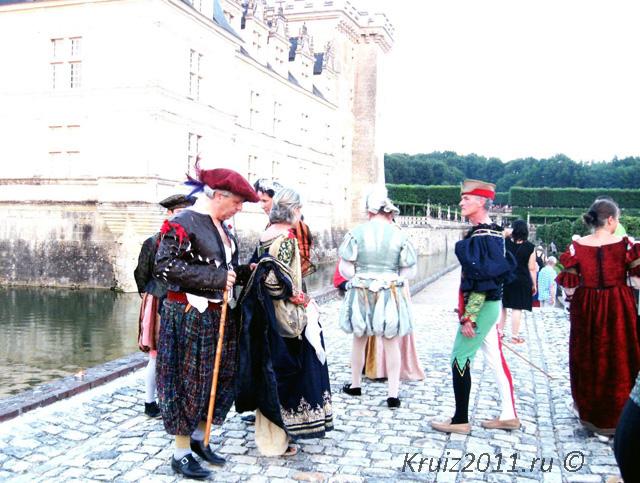 Франция. Замок Вилландри. Замки Франции