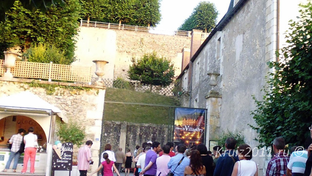 Франция  Замок в Вилландри.