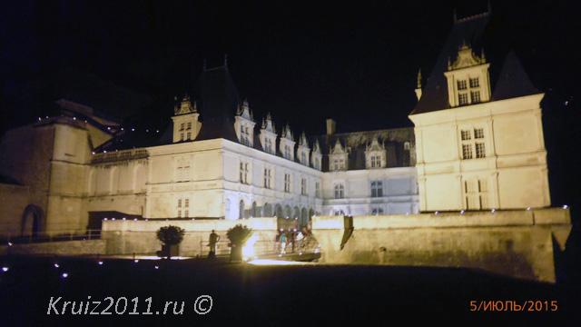 Франция. Замок Вилландри.