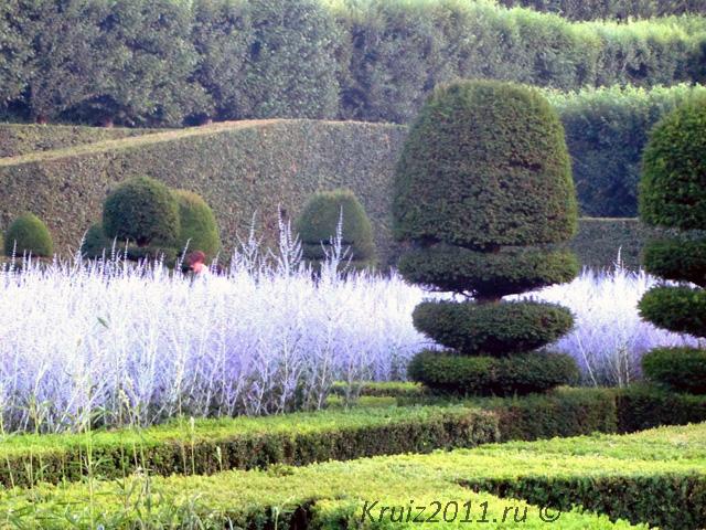 Сады Вилландри. Достопримечательности Франции