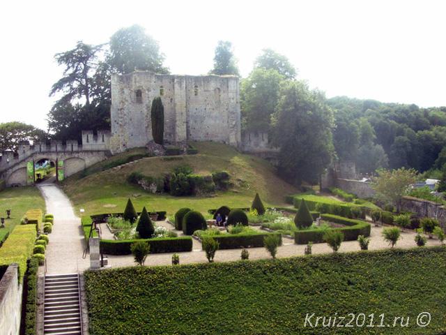 Замки Франции Ланже.