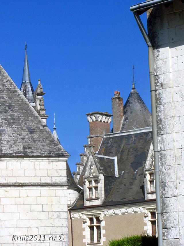 Замки Франции. Монпупон